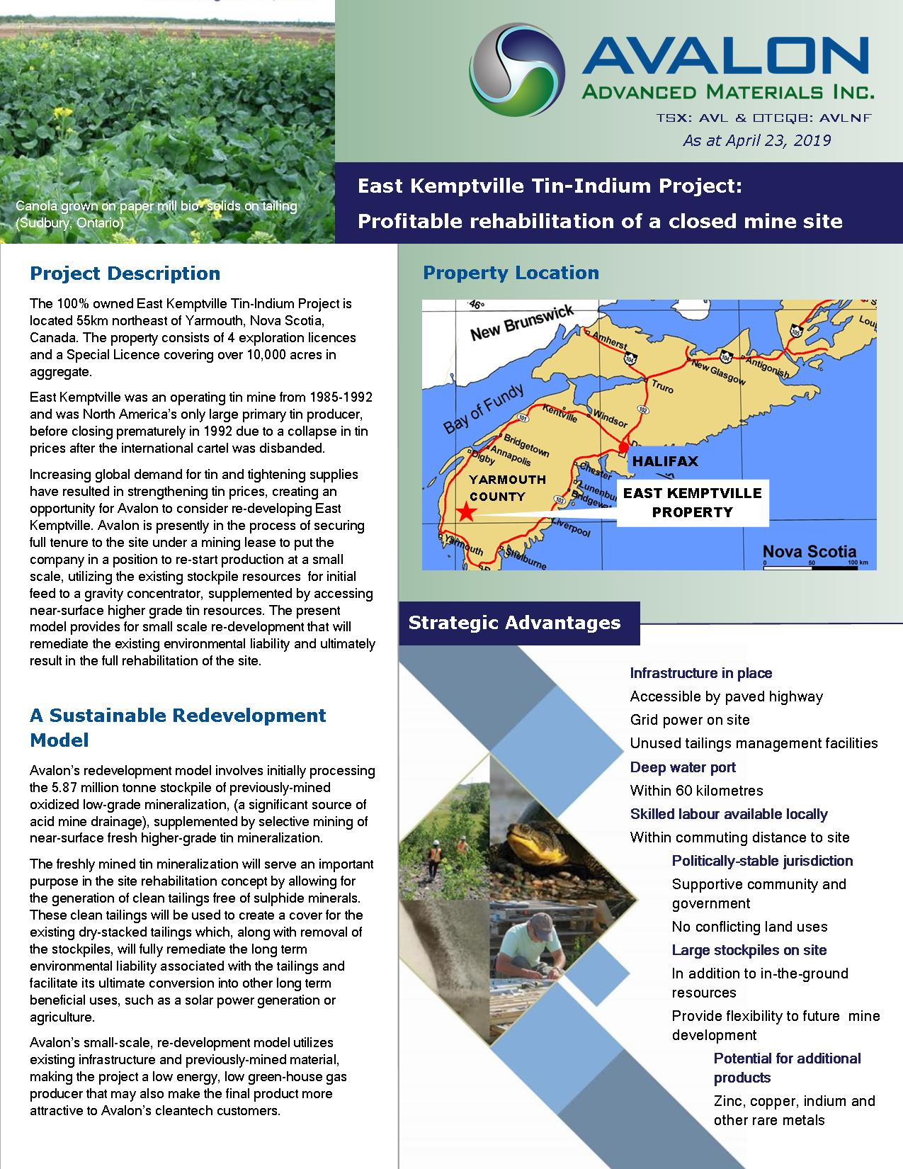 Separation Rapids Project Sheet