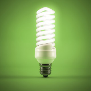Low energy efficient light bulb