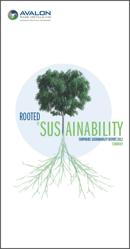 2012 Sustainability Summary