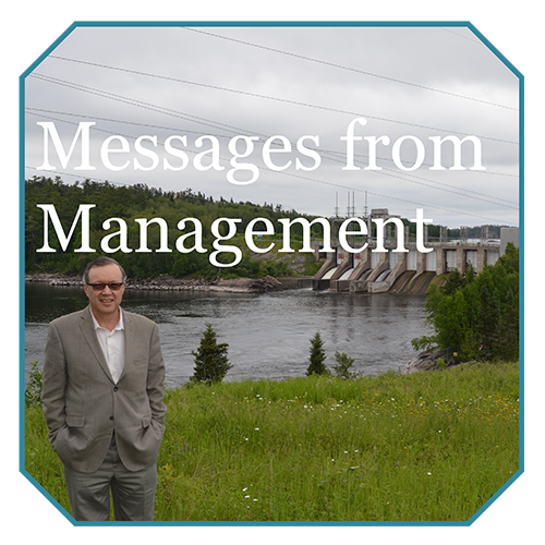 Messages from Management